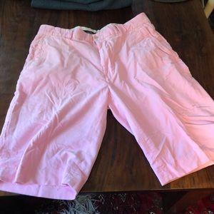 Ralph Lauren pink corduroy shorts